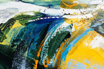 Fototapeta Abstrakcja painted abstract background