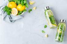 Fresh Cool Lemon Cucumber Mint...
