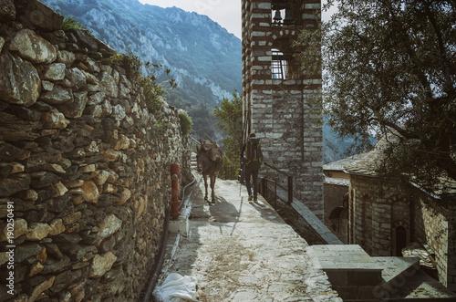 Photo  A New Skete on the Athos mountain
