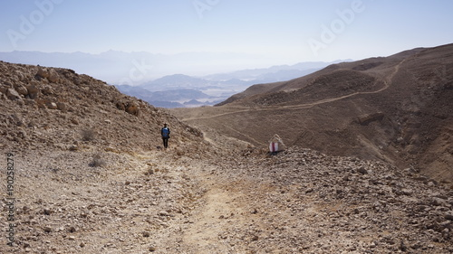 Photo  Arava Valley. Israel. Timna Park. Desert. Dolina Arava
