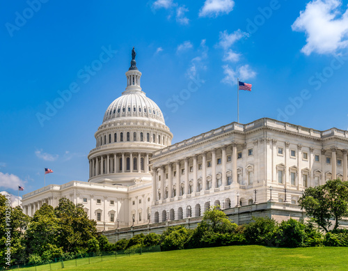 Fotografía United States Capitol Building in Washington DC - Famous US Landmark and seat of