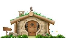 Fabulous Forest Hut Dwarf Or H...
