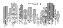Abstract City Vector, Transpar...
