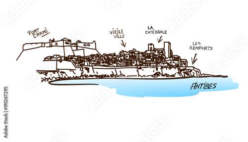 Photo Antibes cote d'azur France
