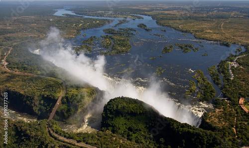 Staande foto Afrika Victoria falls