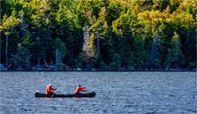 Canoeing In Acadia