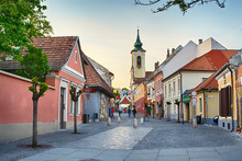 Kucsera Ferenc Street With Med...