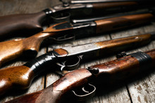 Ollection Of Hunting Rifles