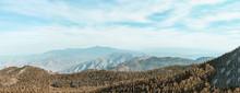 San Jacinto Peak Amazing Landscape Panorama