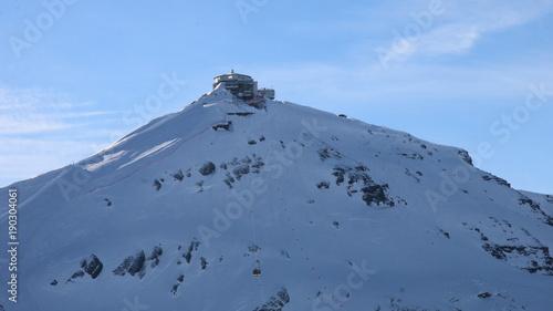 Photographie Alps Peaks, Picos Alpes, Schilthorn Piz Gloria, Mürren, Suiza, Switzerland