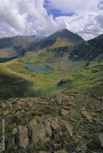 Fotografie, Obraz  High Mountain Lake, Colorado