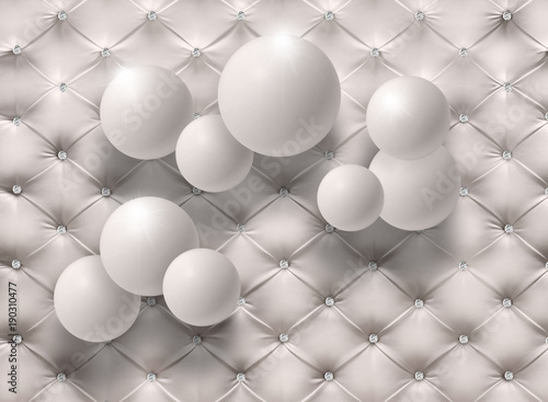 Photo  Abstract Wallpaper balls.