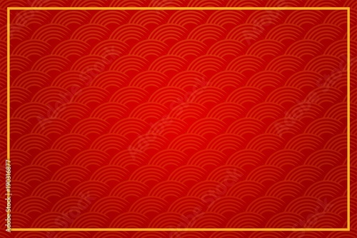 Chinese abstract background element. brush skecth element with gradient color