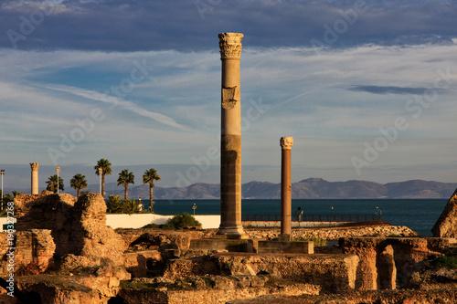 Photo  Carthage Roman Bath houses