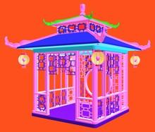 Traditional Chinese Gazebo Gar...