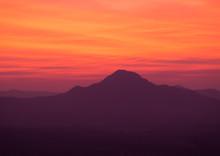 Sunrise At Phu Thok