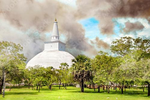 Fotografie, Obraz Ruwanwelisaya Stupa