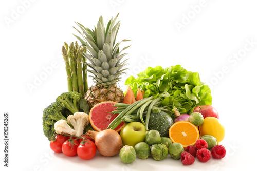 fruit and vegetable. © M.studio