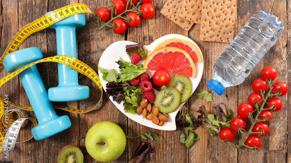 Fototapety, obrazy: healthy eating concept