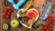Leinwanddruck Bild - healthy eating concept