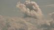 Pale sky clouds