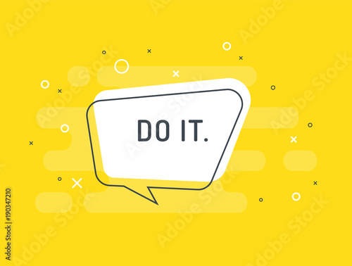 zrob-to-motywacja-pozytywny-sztandar-mowa