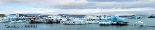Aluminium Prints Glaciers Glacial lagoon of Jokulsarlon