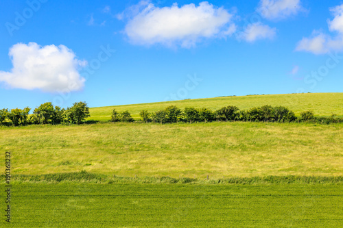 Foto op Canvas Blauw Sussex Landscape