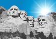 Mont Rushmore - États Unis - monument - symbole - américain - USA - sculpture - amérique