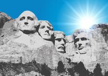 Mont Rushmore - États Unis - ...