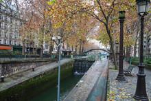 Autumn By Saint Martin Canal I...