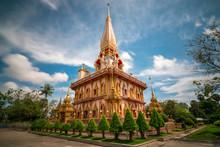 Beautiful Pagoda In Chalong Te...