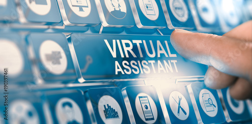 Virtual Assistant; Personal PA Services Wallpaper Mural