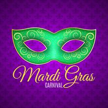 Flyer For Mardi Gras Carnival....
