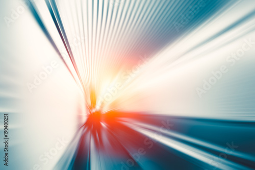 obraz PCV Blur motion fast moving business perform concept abstract for background