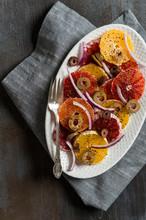 Blood Orange Salad With Olives...