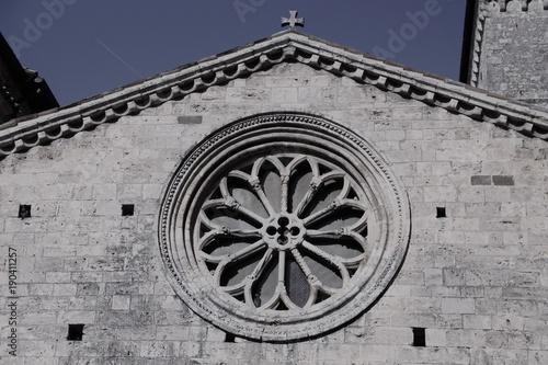 Photo Alatri, Ciociaria. Rosone della Cattedrale