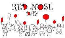 World Day Of Red Nose. Doodles...