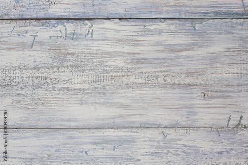 Pastel wood planks. Vintage weathered shabby white painted wood texture backg...