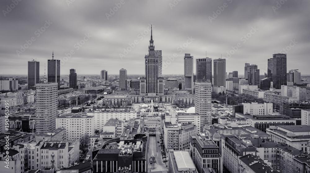 Fototapety, obrazy: Warszawa centrum