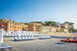 Beautiful coast of Celle Ligure, Liguria, Italy