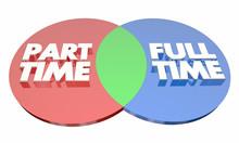 Part Time Vs Full Time Work Em...