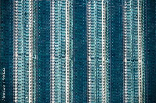 Dense Building in Hong Kong Wallpaper Mural