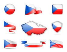 Czech Republic Flags Collection