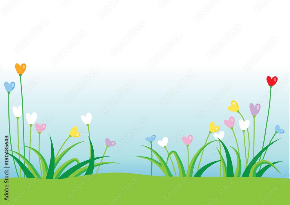 tło roślin i kwiatów <span>plik: #190485643 | autor: wenpei</span>