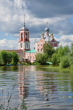The Church Of The Forty Martyrs Of Sebaste On The Banks Of The Trubezh River In Pereslavl-Zalessky