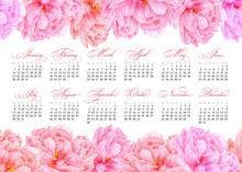 Elegant Printable Calendar 201...