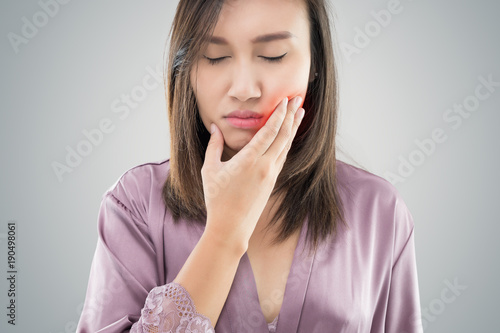 Fotografia  Suffering from toothache