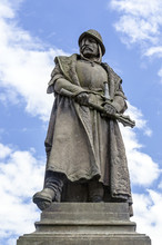 Statue Of Hussite Military Lea...