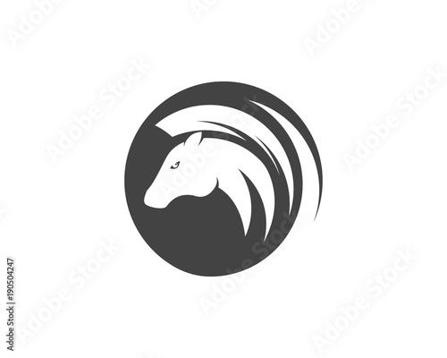 Fototapety, obrazy: Horse Logo Template